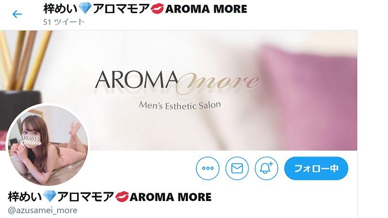 アロマモア梓めいツイッター